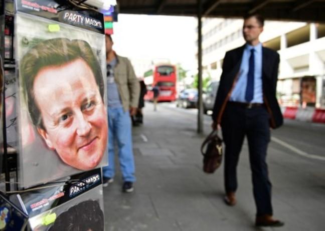 David Cameron a annoncé qu'il démissionnerait en octobre 2016. Leon Neal/AFP
