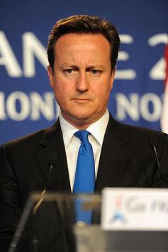 L'ancien premier ministre britannique, balayé par le Brexit. Guillaume Paumier, CC BY